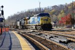 CSX 305 with 47 onto old main line