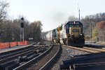 CSX 8621 and 1