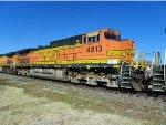 BNSF C44-9W 4813