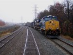 Passing Southbound CSX Freight