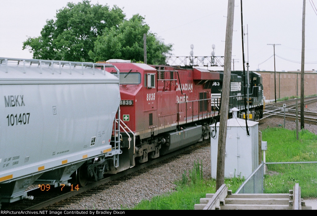 NS 9563 and CP 8835
