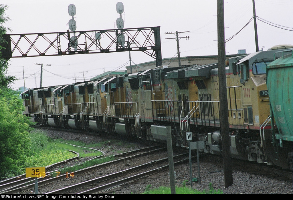 Another view Seven UP Train