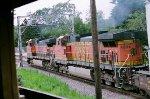BNSF 1074 with BNSF 4804