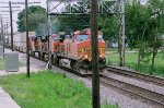 BNSF 5340 with 7399,4668, 7439