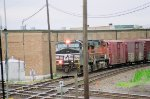 NS 9590 and BNSF 5137