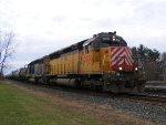 CITX SD40M-2 2808 leads local D752 east.