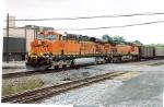 BNSF 5748 GEVO in current paint scheme.