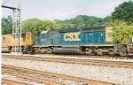 CSX 8853 (rear 3/4 view)