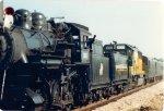 Head end power of 1987 Circus train