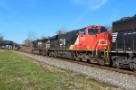 CN ES44DC #2243 In 21M Power Consist @ 1034 hrs