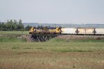 BNSF 2779 & BNSF 3207 Were Pushing this Local on the Niobe Branch While an EMD and BNSF Heritage I Unit Pulled