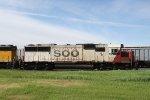 SOO 6030 Sits in the CP Yard