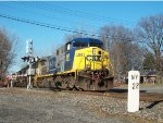 CSX 462 and much more on Q380. One of the best lashups I have seen in a long time.