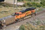 BNSF 6172 Gives a Push