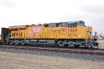 UP 7400 - Bakersfield, CA - 3/11/11