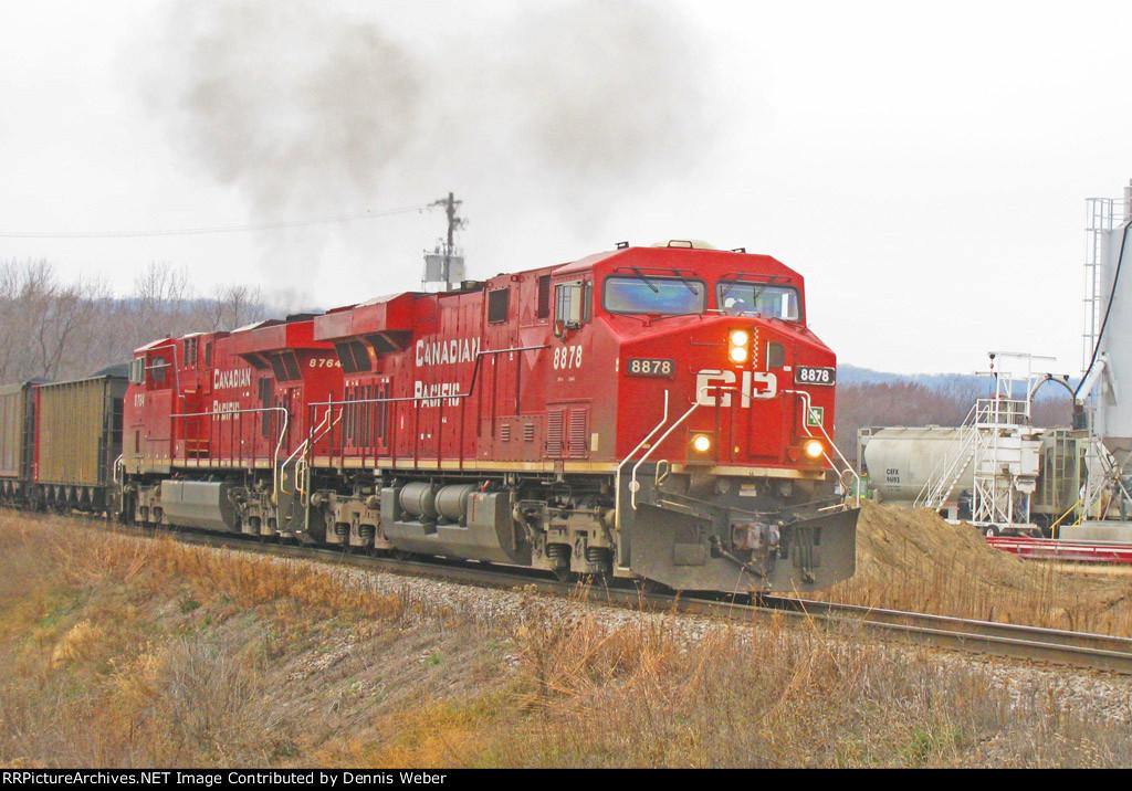 CP 8878,  CP's   Tomah  Sub.