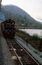 SBD 8159 along Nolichucky River