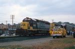 CSX 8250 passes NKP 765 crew