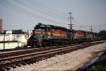 Family Lines SD40-2 at Knoxville,Tn