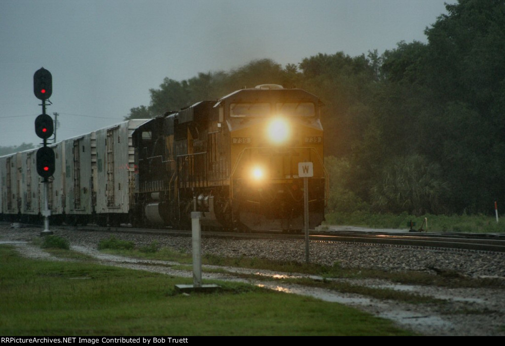 Tuesday May 29, 2012.  TS Beryl is dumping loads of rain, I am trying to salvage a day off, and the Juice Train cometh