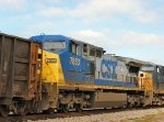 Northbound Freight - fourth unit CSX 7853