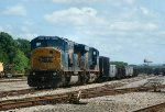 Layover Power CSX 739 & 8777 sitting in the yard on May 25th, 2012