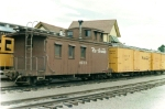 Caboose and reefers, 1966