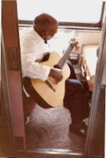 "Pullman Porter and Ameteur Blues Man with Martin""003"", California Zephyr, 1964"