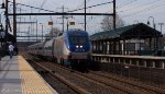 Amtrak #1054 with MARC commuter equipment