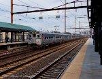 Amtrak #1099 with NJ Transit commuter equipment.