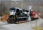 NS 5137 and cab shove east