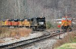 Train 6G w/NS 8828 and foreign power congregate