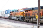 BNSF 6684 follows BNSF 6644 as a #2 unit on this Hot Z going West to LA!!!