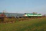 RBRX 18520, RBRX 18522 & RBRX 18521 - VIA train No. 601