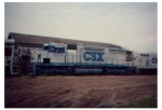 CSX 1004 h-15 at steel proscessing