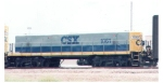 CSX 1061 at rice yard