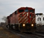 CP 248 CP 9007 East, Mile 4.62 North Toronto Sub