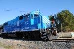 Our westbound locomotive