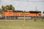 BNSF 9259 coming into the yard by the mill
