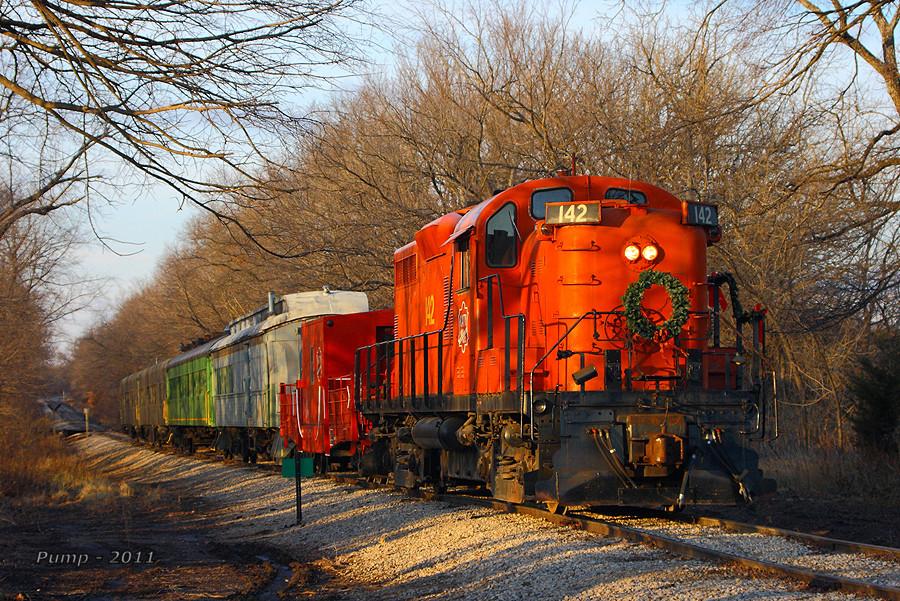 Southbound MRHA Train
