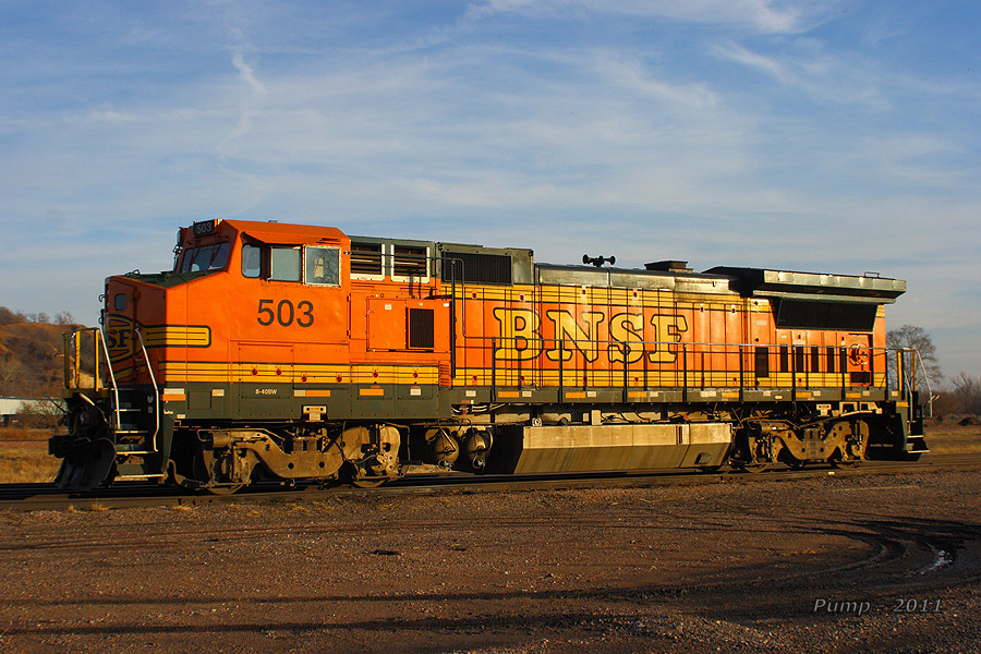 BNSF 503 - GE B40-8W