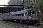 SEPTA Silverliner 9002 on the rear of SEPTA Train 328
