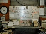 "Interlocking control ""Model Board"" (control panel) at NS ""HICK"" tower"