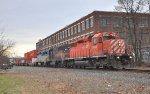Northbound NS 159 CP 6036