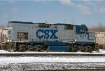 CSXT 1502, EMD GP15T, ex C&O 1502, at CSXT's Barr Yard