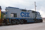 CSXT 1514, EMD GP15T, ex C&O 1514, at BN's Eola Yard