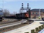 CN 5544 Approaching