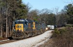 CSX 8240 leading a all EMD consist on Q580