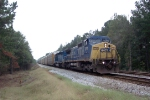 CSX 7701 on CSX Q215 heading south