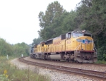 UP 4424 on CSX S606 heading south